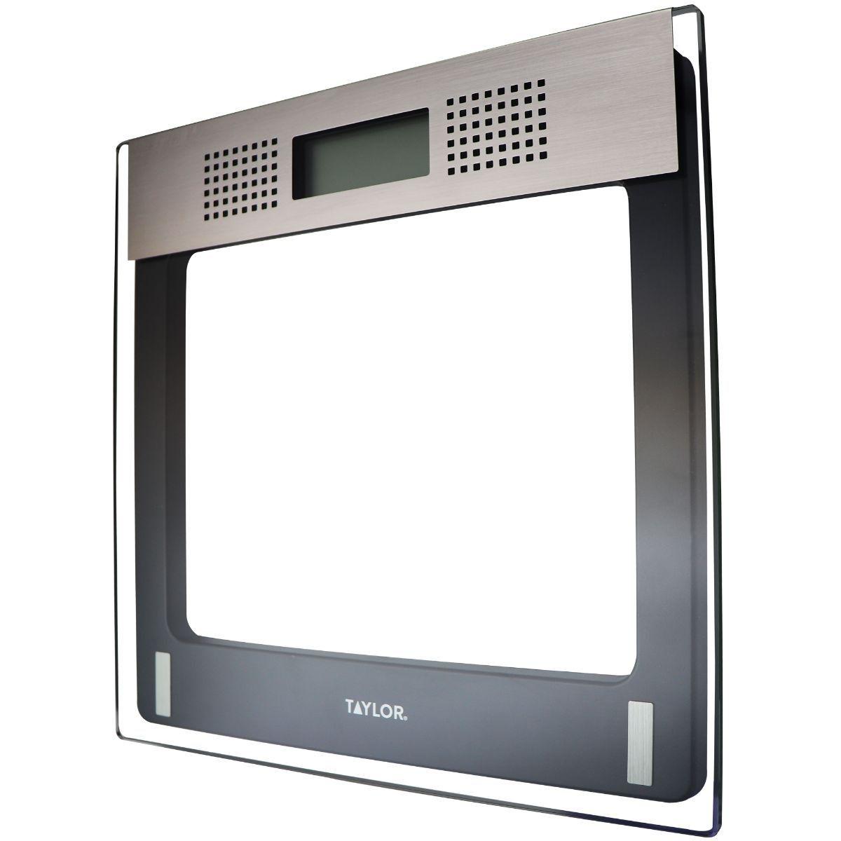 Taylor Digital Talking Bathroom Scale - Black (70844091M)