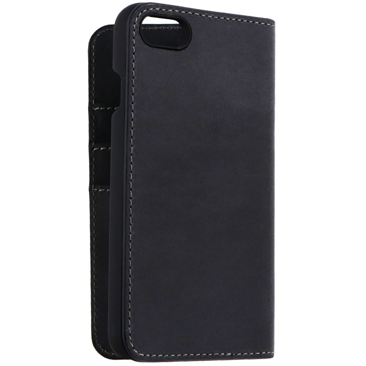 newest e0125 83793 Platinum Genuine Leather Folio Wallet Case for iPhone 8 and 7 ...