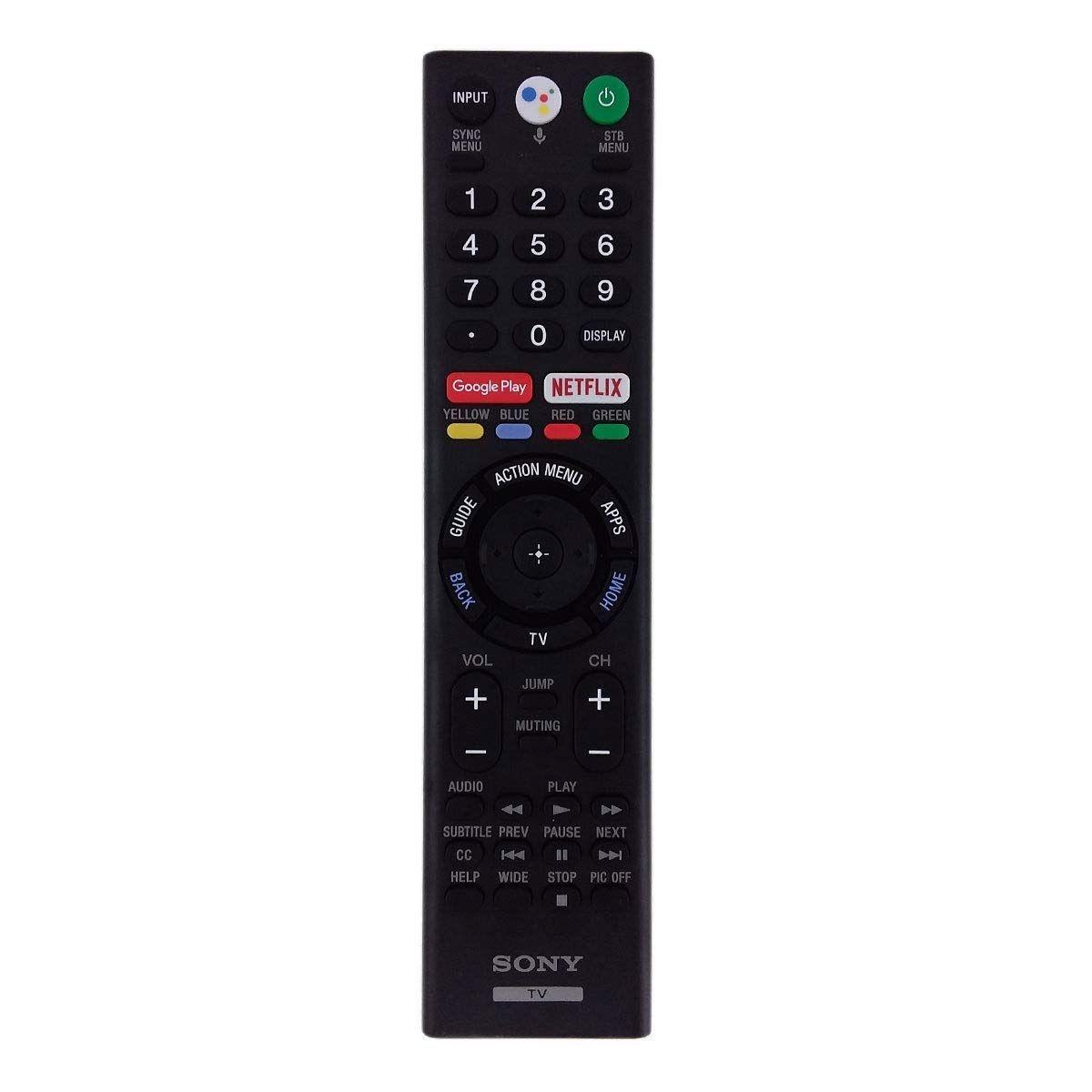 Sony TV Remote Control for Sony XBR-55X850F / XBR-65X850F Smart TVs - RMF-TX310U