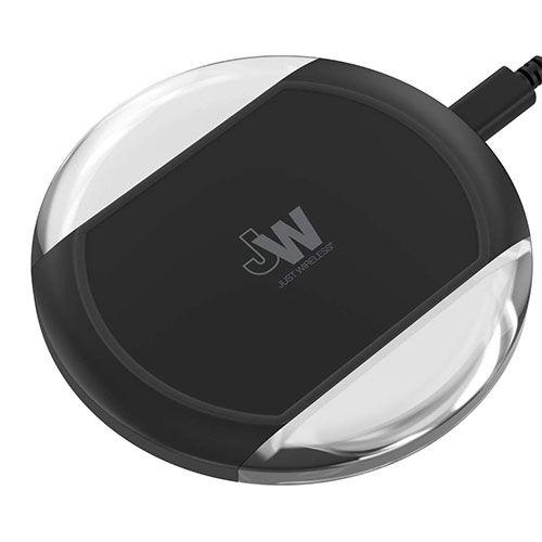 Just Wireless 5W/1A Qi Wireless Charging Pad - Black - 13420
