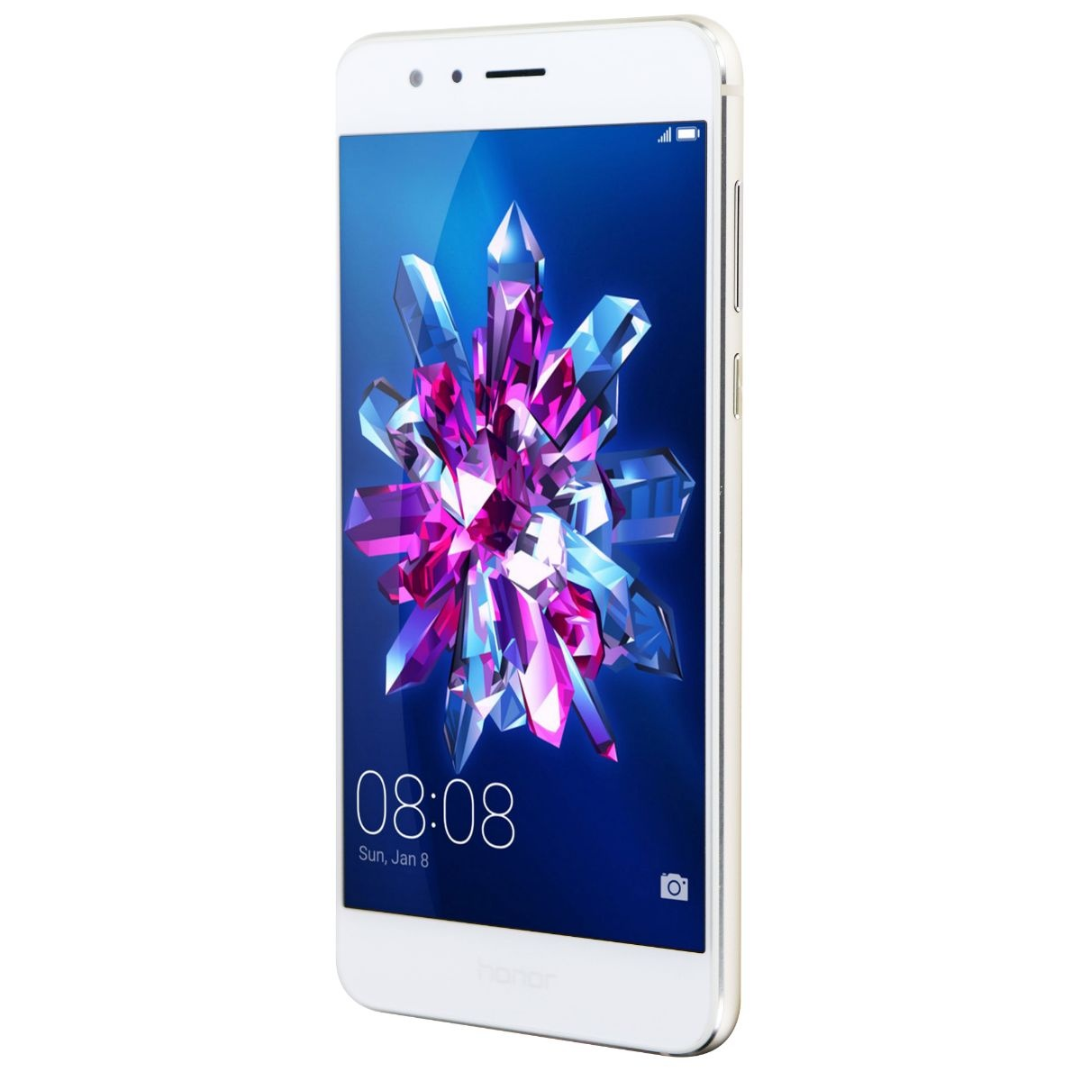 Huawei Honor8 Factory GSM Unlocked Smartphone w/ Dual Camera Pearl White FRD-L14