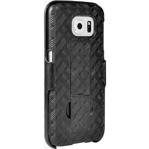 Verizon Kickstand Shell Case and Holster Combo for Samsung Galaxy S6 - Black