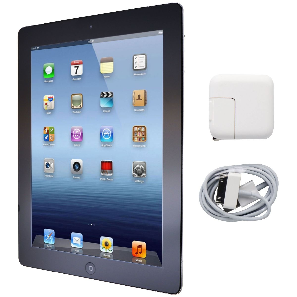 Apple iPad 9.7-inch (3rd Generation) Tablet A1416 (Wi-Fi ONLY) - 16GB / Black