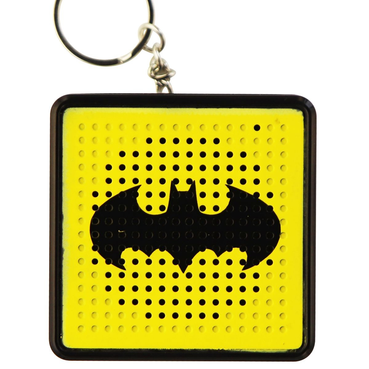 DC Comics MAGNAVOX Portable Bluetooth Wireless Speaker Key Chain - Batman