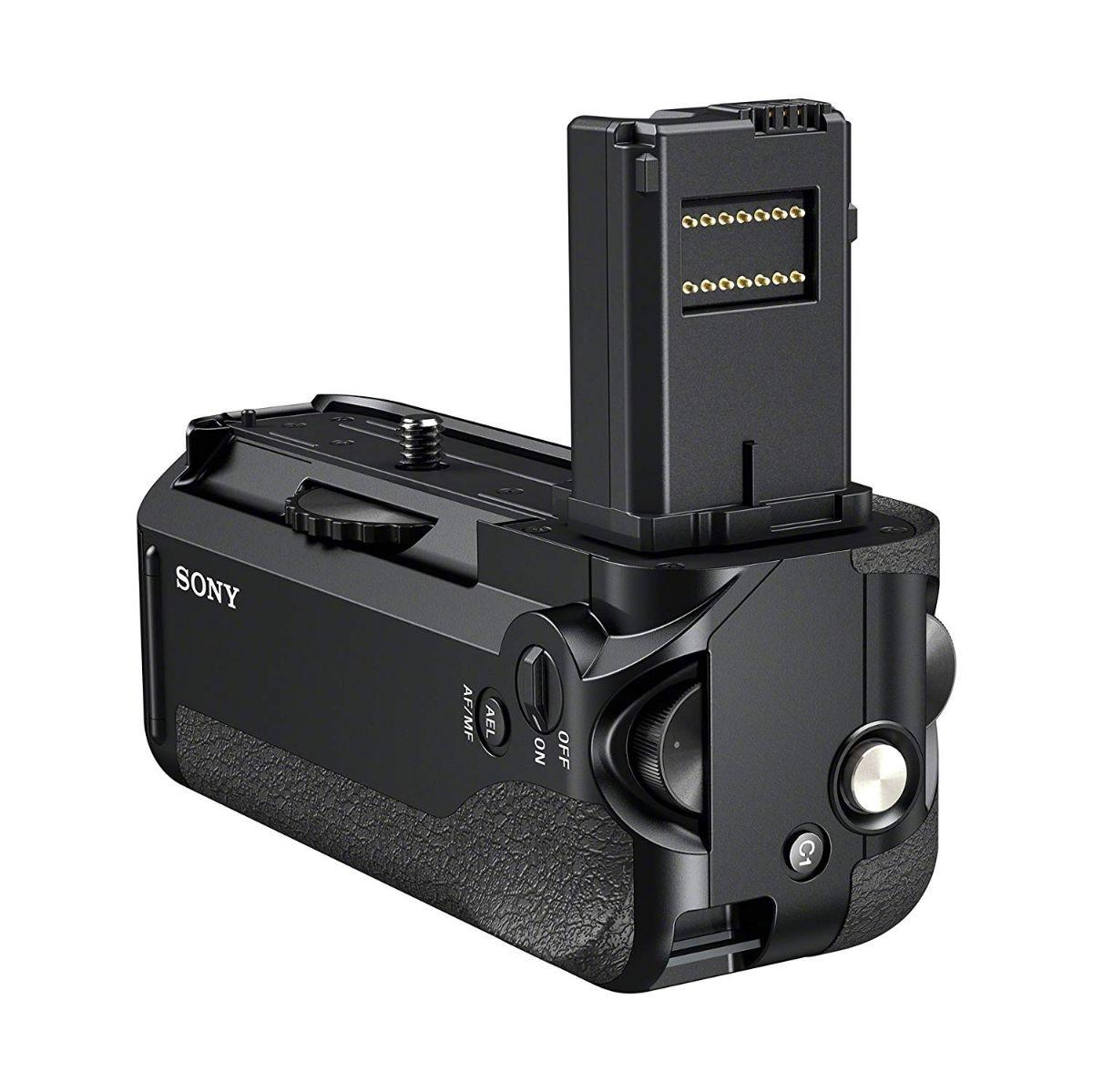 Sony VG-C1EM Digital Camera Battery Grip for Alpha 7S, 7R and 7 Cameras - Black