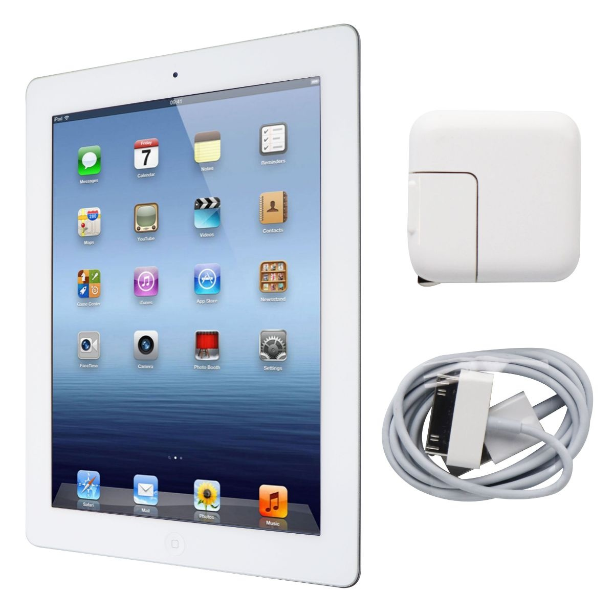Apple iPad 9.7 (2nd Gen) Tablet A1395 MC980LL/A (Wi-Fi ONLY) - 32GB / White