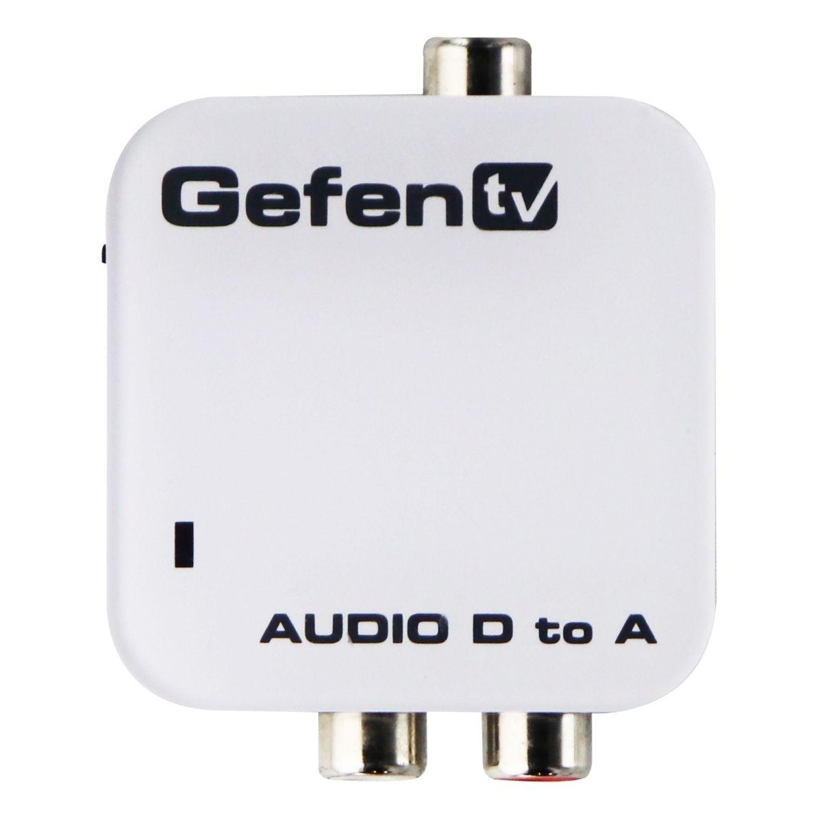 Gefen - Digital Audio to Analog Audio Adapter/Converter