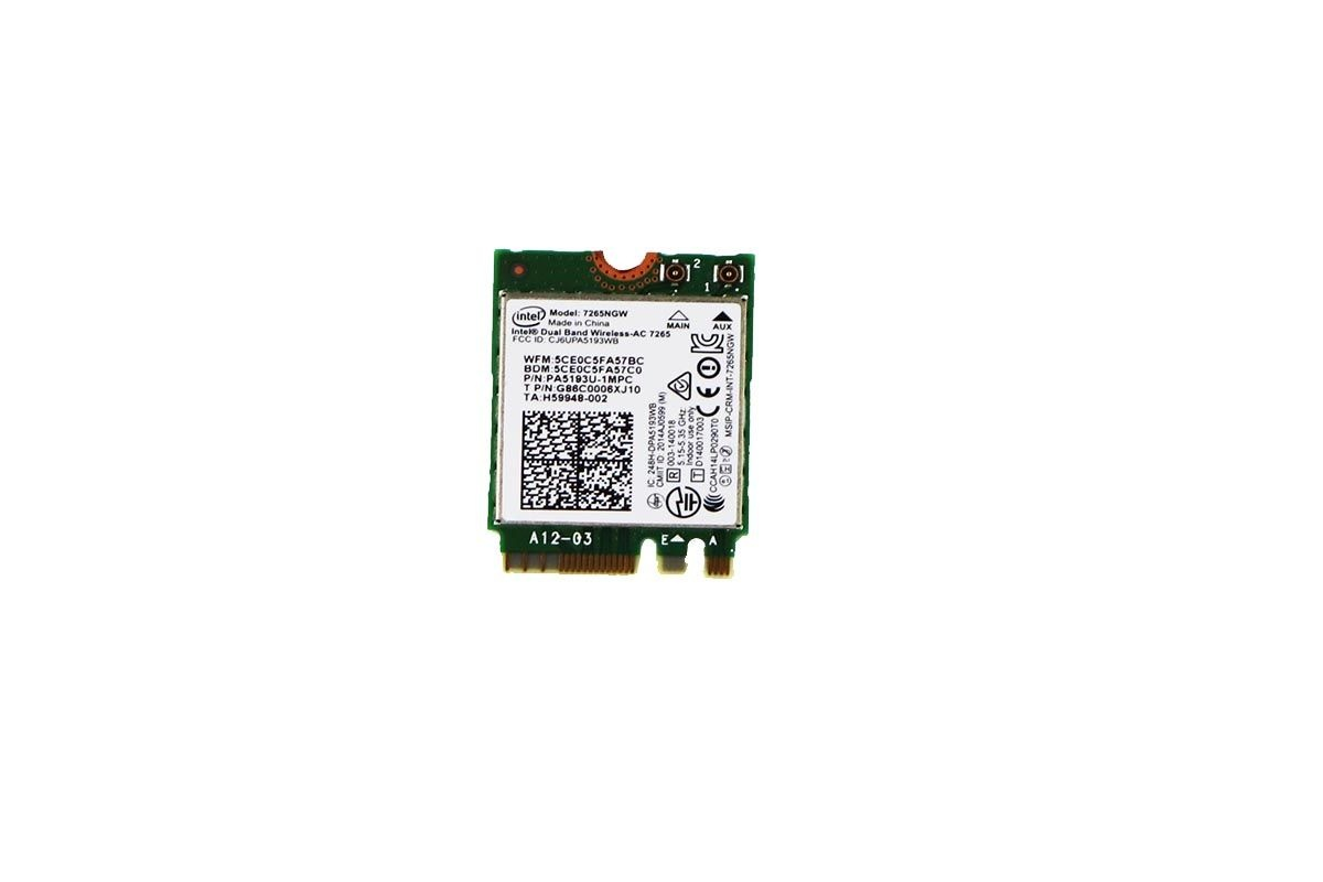 Wireless WiFi Card for 7260NGW Toshiba Satellite L55WC5278D