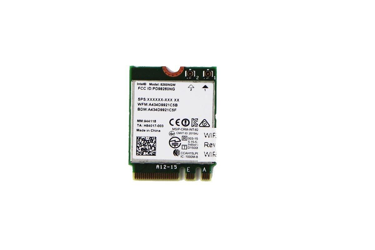 Wireless WiFi Card for HP Elite X2 1012 G1 Laptop
