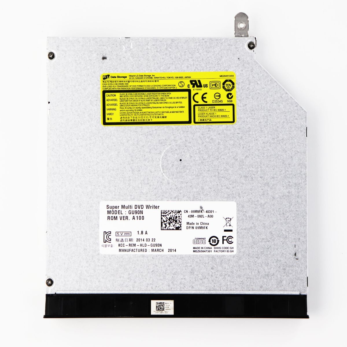 How To Open Disk Drive On Dell Inspiron 15 3000