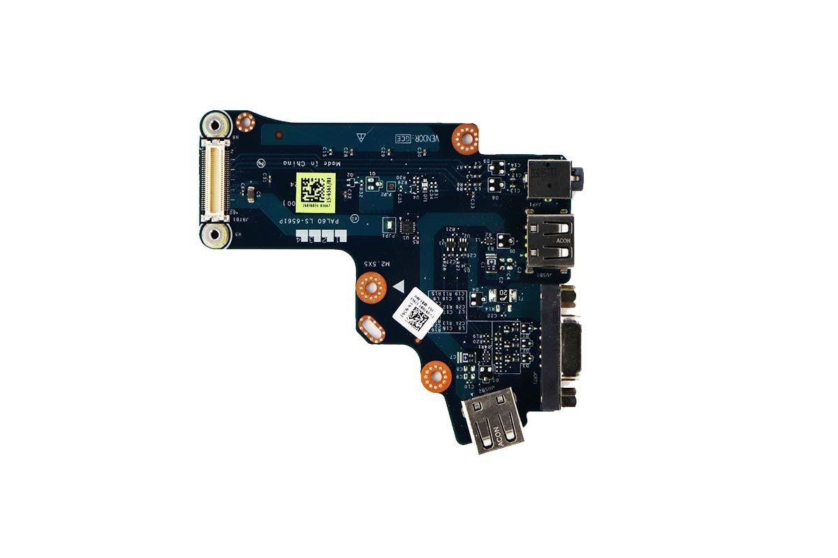 VGA USB Audio I/O Circuit Board for Dell Latitude E6520 Laptop