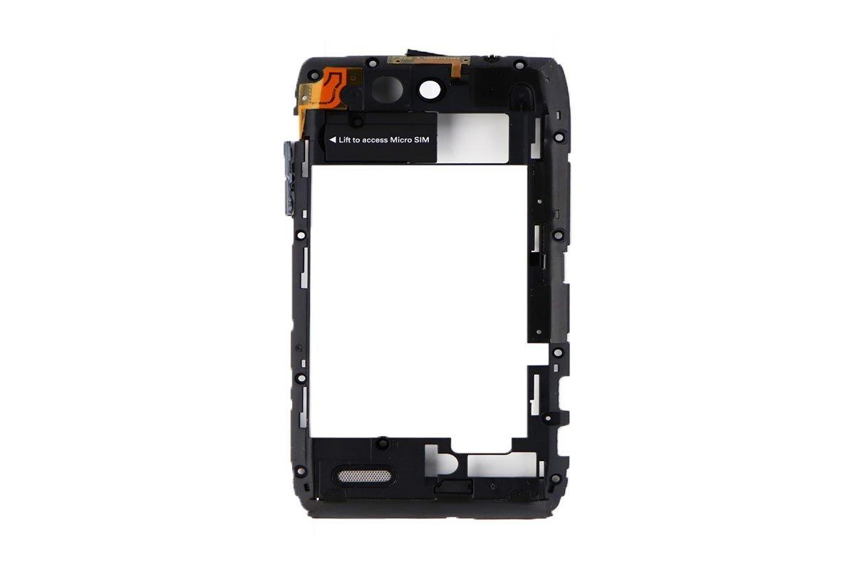 Mid Frame w/ Camera Lens for Motorola Droid 4 XT894 Inner - Black