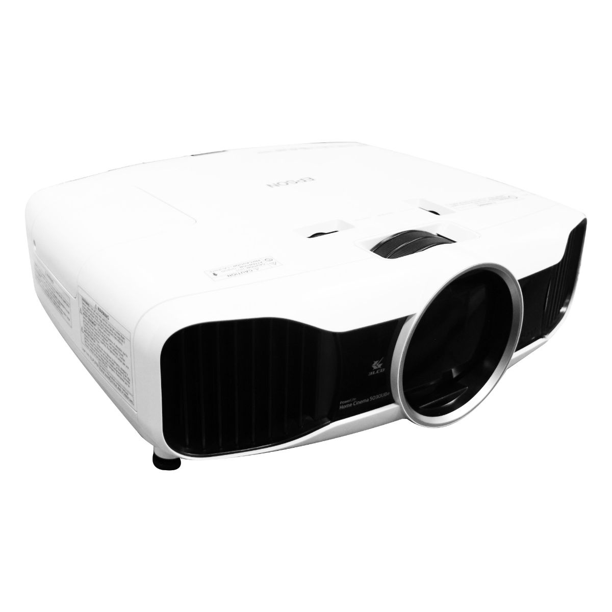 Epson Home Cinema (5030UBe) 1080p 3D 3LCD Home Theater Projector - White