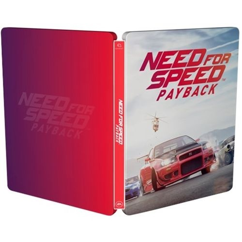 Need for Speed Payback Steelbook Metal Collectors Case  - Case ONLY / NO Disk