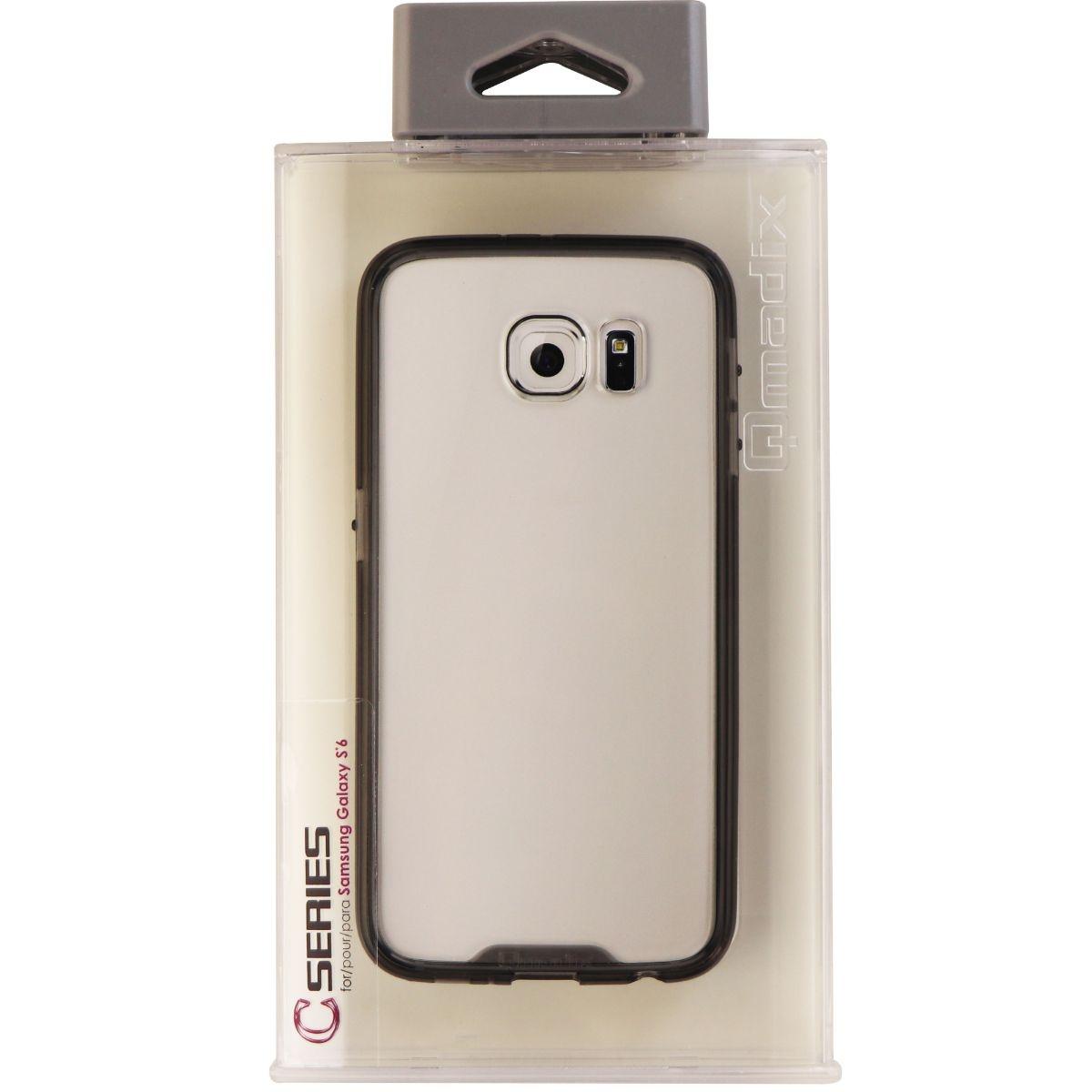Qmadix C-Series Hybrid Hard Case for Samsung Galaxy S6 - Clear/Smoke Tint