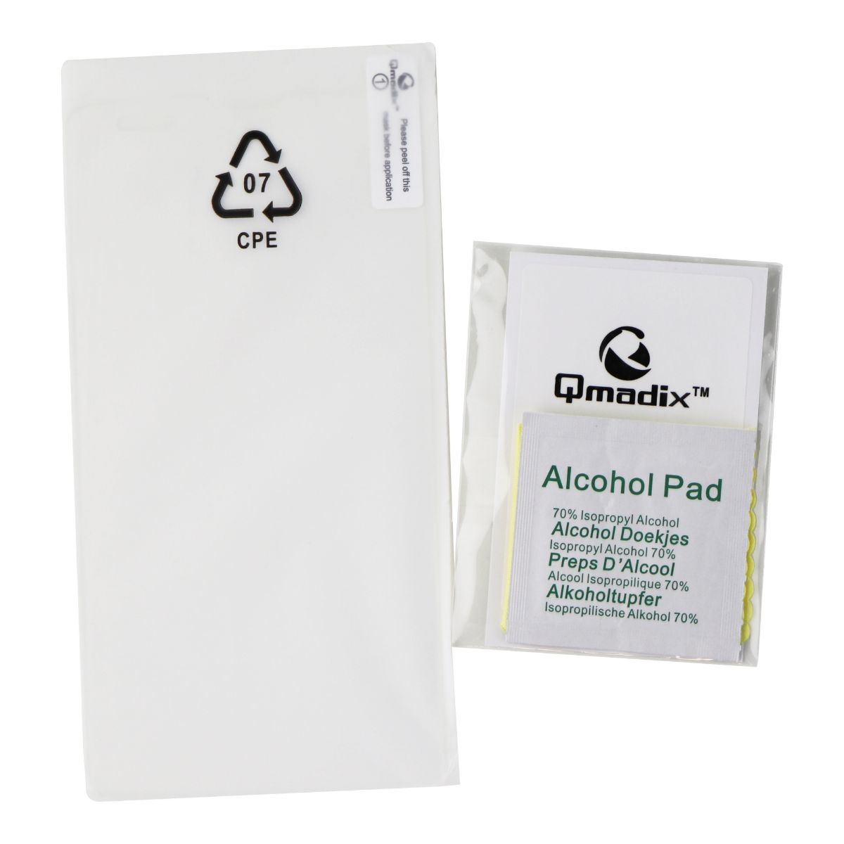 Qmadix Invisible First Defense Glass Screen Protector for LG G Vista Smartphone
