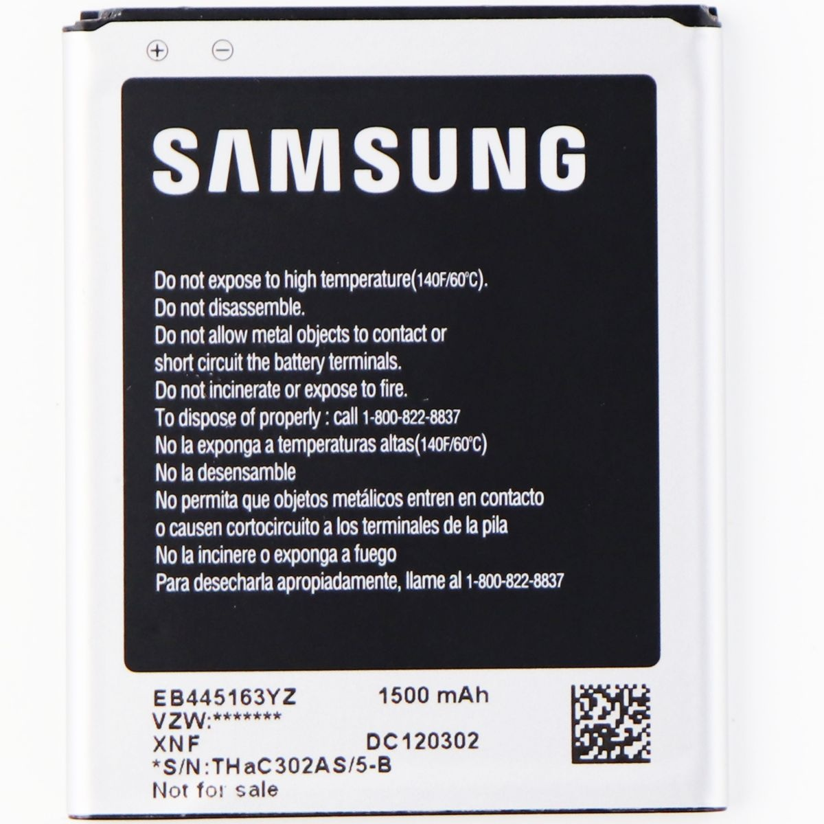 SAMSUNG Replacement Battery EB445163YZ - 1500 mAh