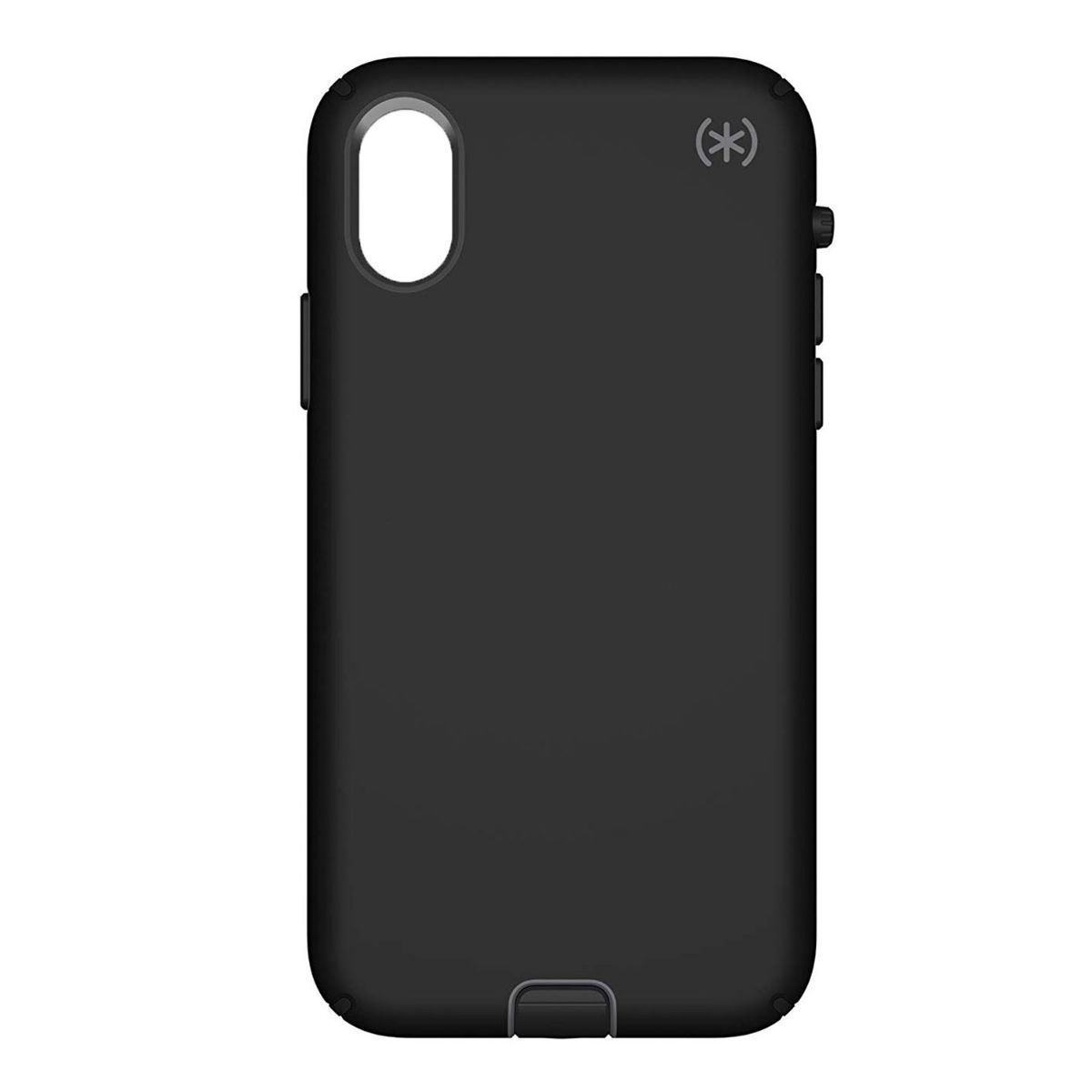 Speck Presidio Sport Hybrid Case for Apple iPhone X - Black / Gunmetal Gray