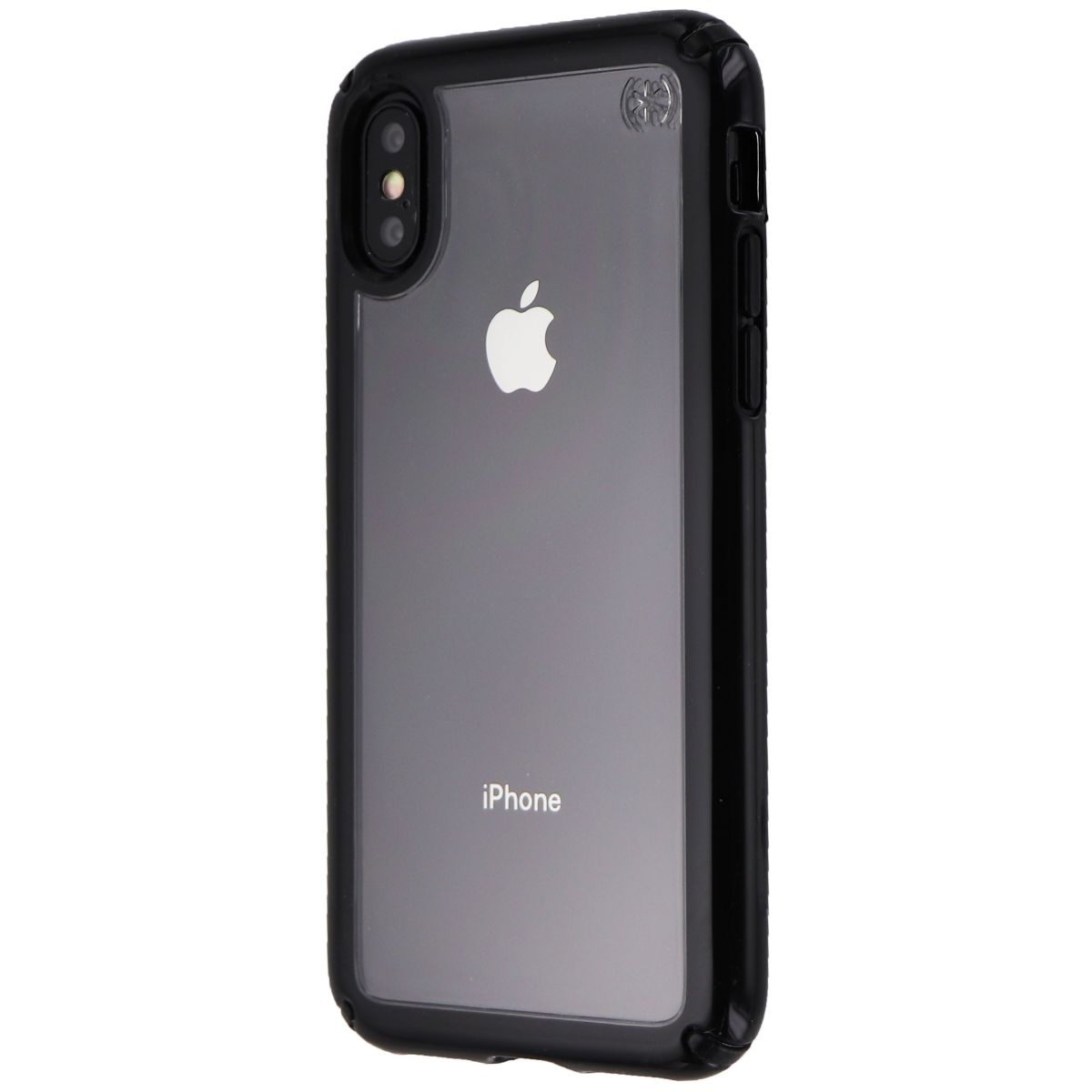 Speck Presidio Show Series Hard Case for Apple iPhone XS / X - Clear / Black