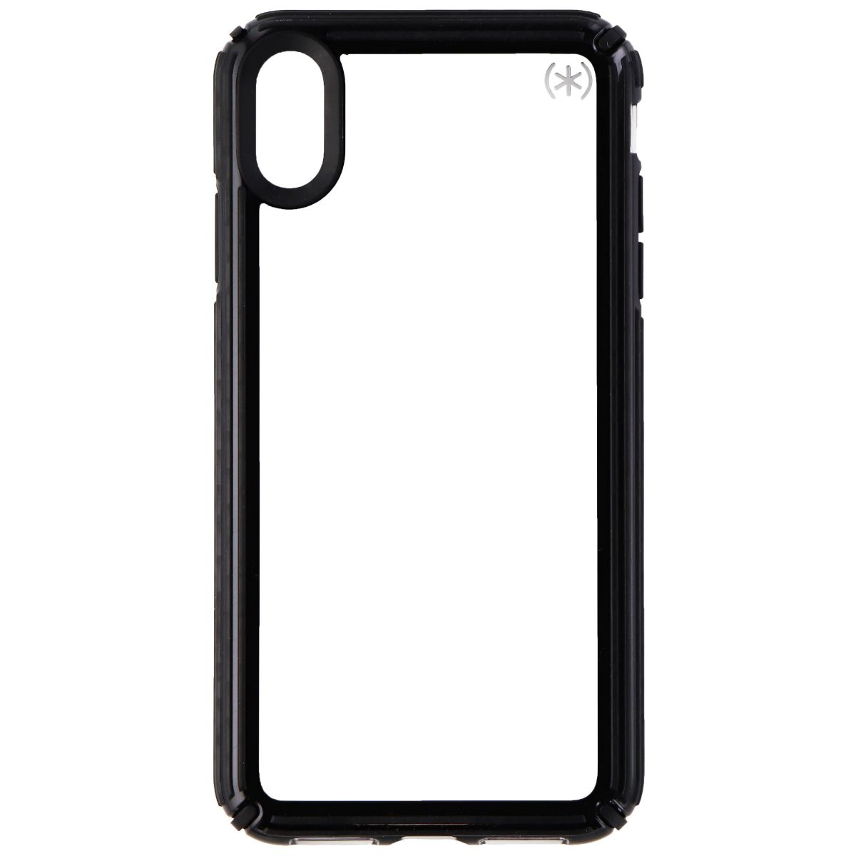Speck Presidio V-GRIP Series Case for Apple iPhone XS Max - Clear/Black