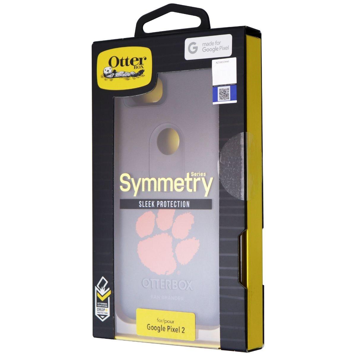 OtterBox Symmetry Fan Brander Series Case for Google Pixel 2 - Black Clemson