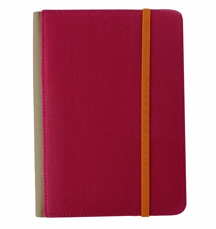 M-Edge Trip Jacket Folio Protective Case Cover for Kindle 4, Touch - Pink/Orange