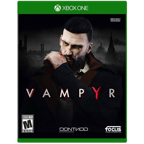 Vampyr - Video Game for Xbox One (2018) M for Mature 17+