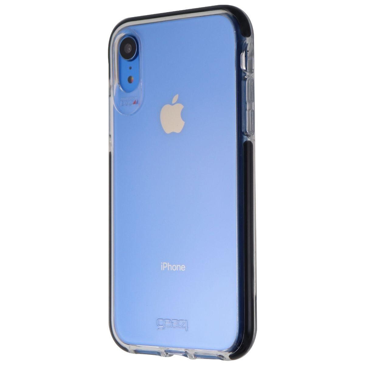 Gear4 Piccadilly Slim Design Case for iPhone XR - Black / Clear
