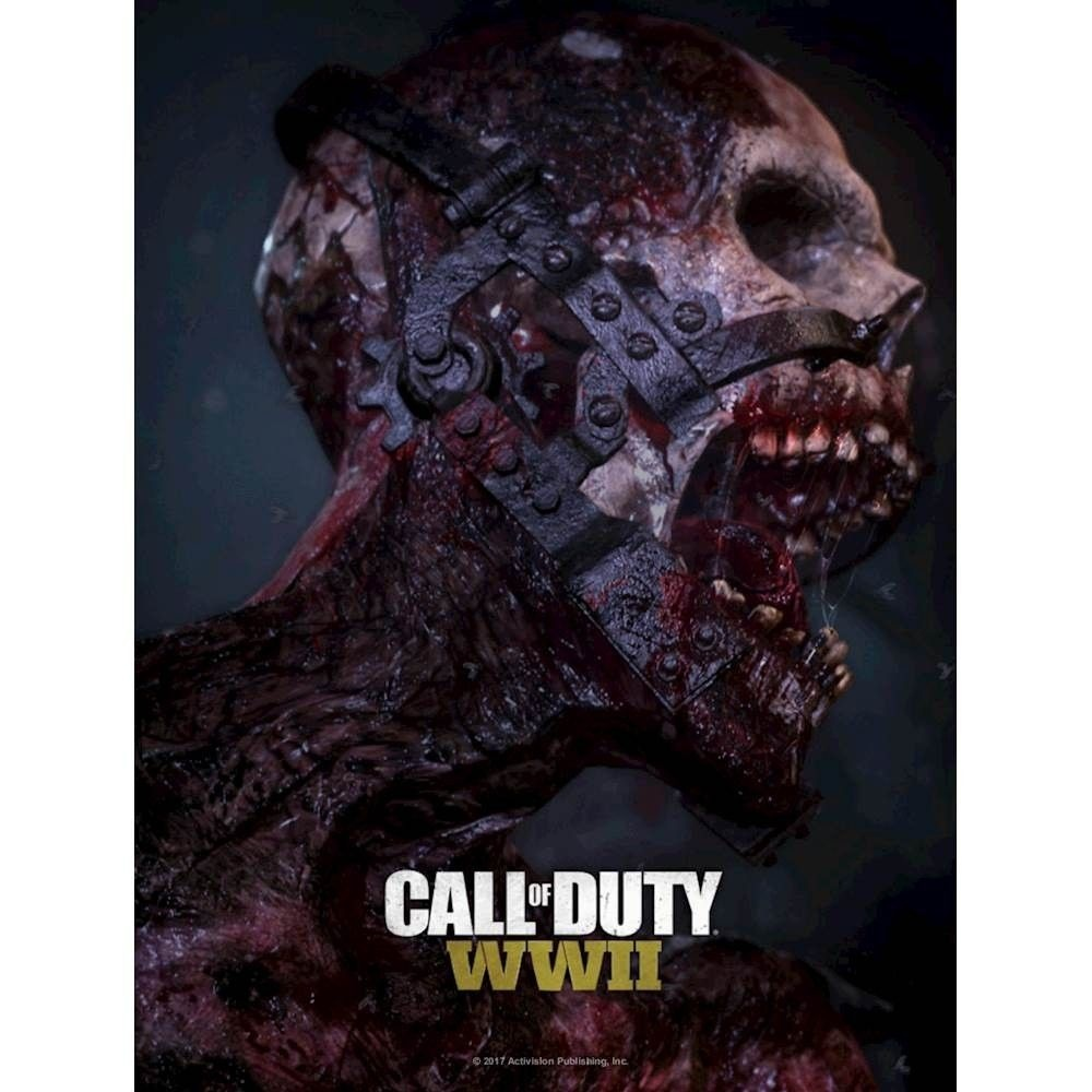 Activision Call of Duty WWII 3D Zombies Lenticular Print - MDFS12576