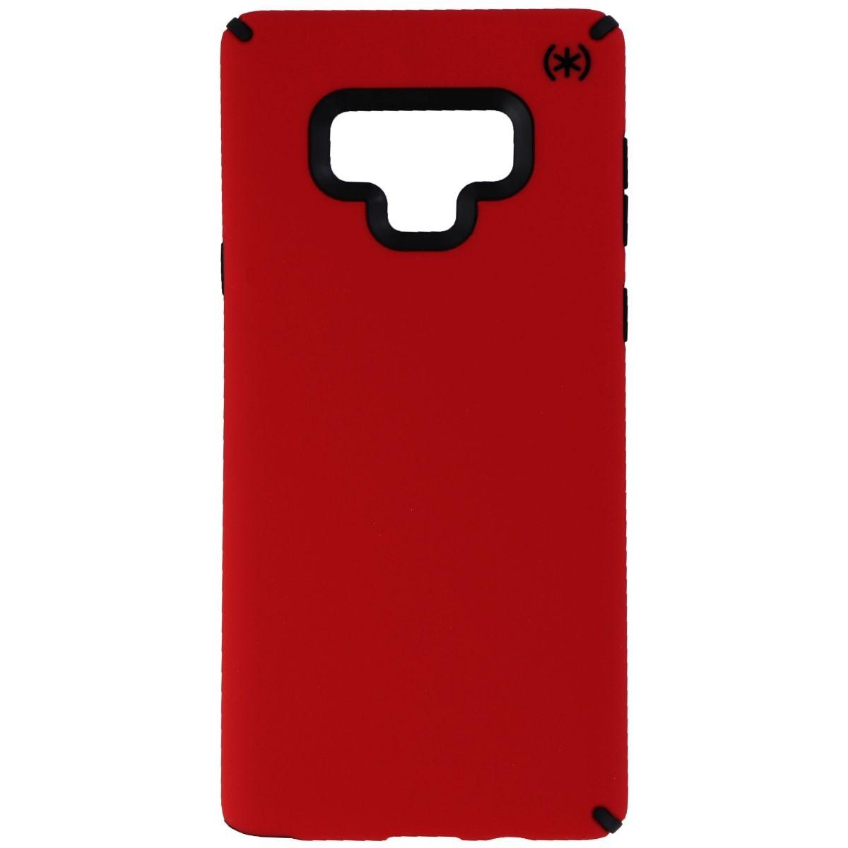Speck Presidio Pro Case For Samsung Galaxy Note 9 - Heartrate Red/black