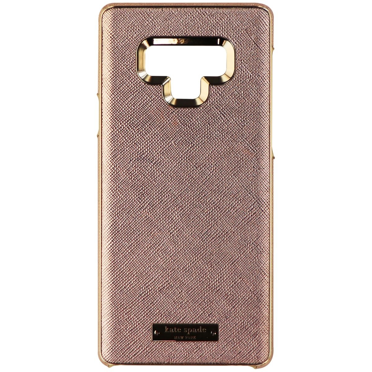 outlet store 9b1b7 d2674 Kate Spade Wrap Case for Samsung Galaxy Note 9 - Saffiano Rose Gold