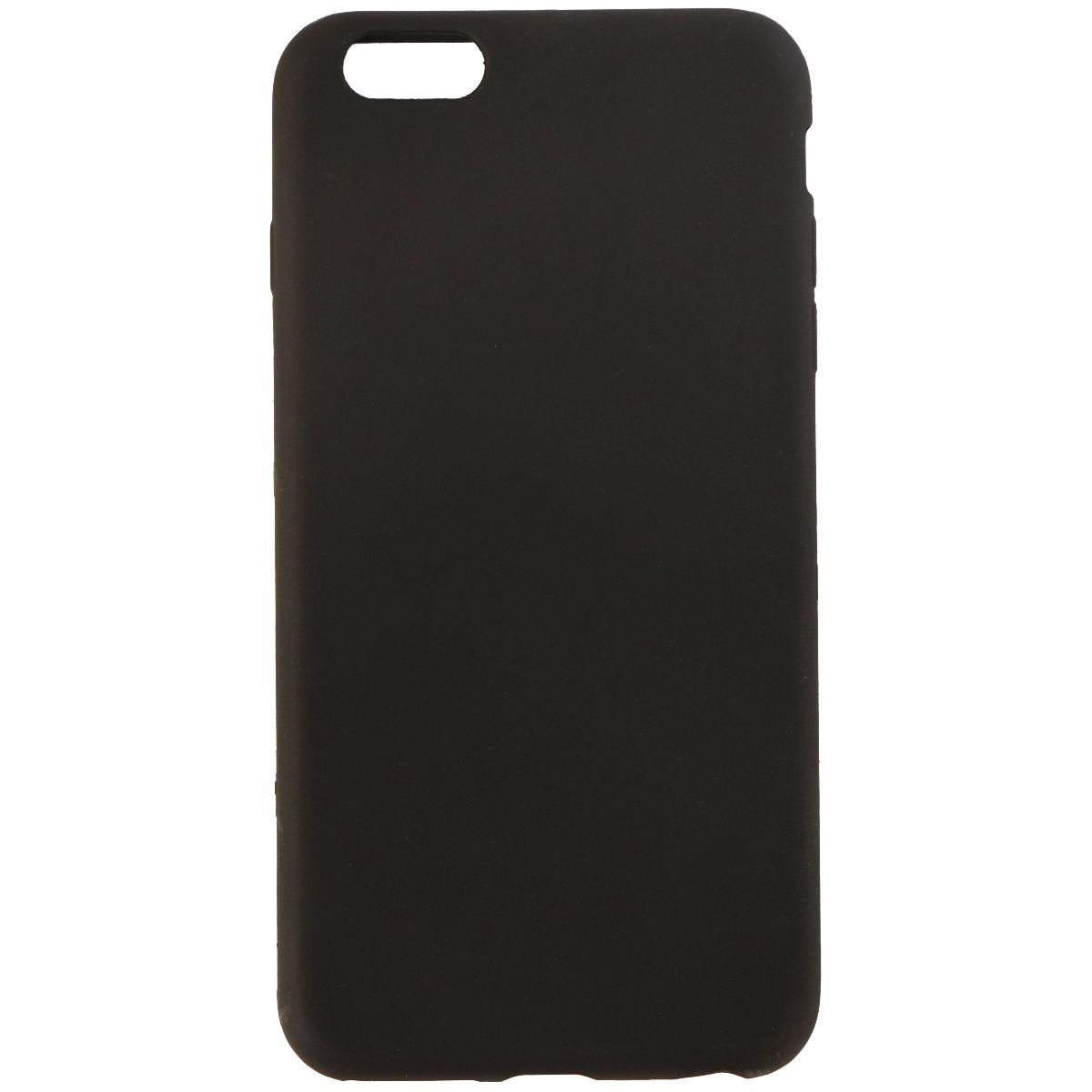 new style e0b25 4e6ca Insignia Soft Shell Gel Case for Apple iPhone 6s Plus/6 Plus - Black
