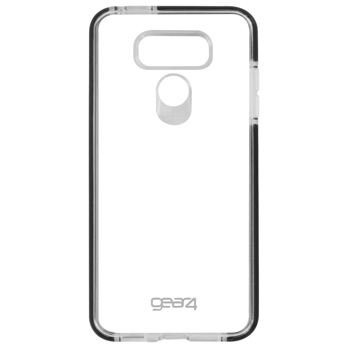 Gear4 Piccadilly Series Hybrid Hardshell Slim Case for LG G6 - Clear / Black