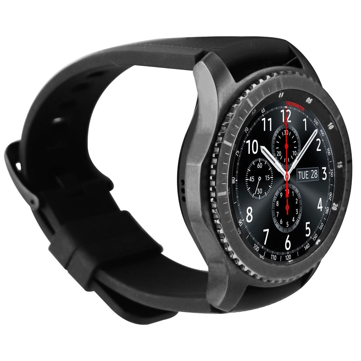 Samsung Gear S3 Frontier Smart Watch - Space Gray (SM-R760)