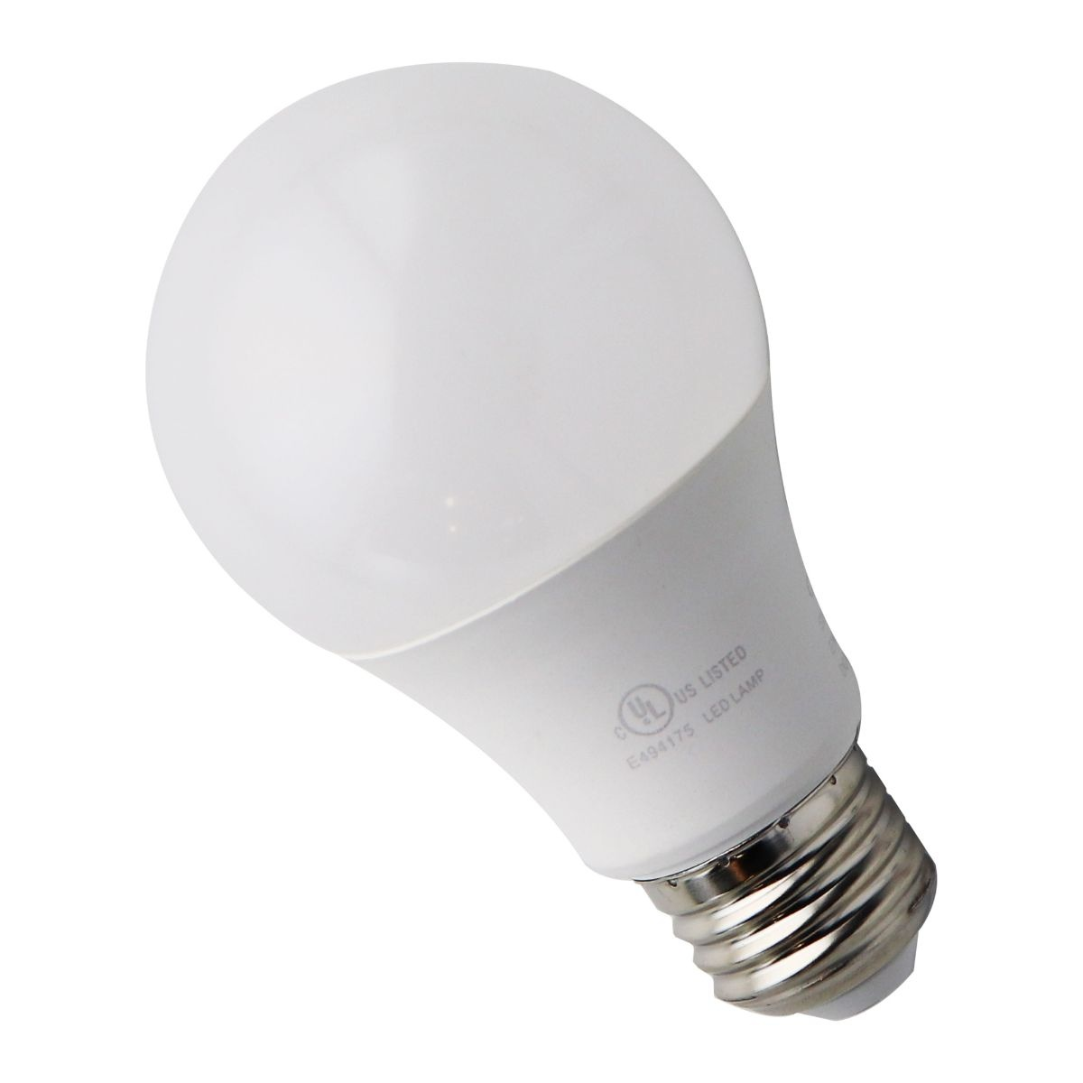 Energy Saving LED Light Bulbs 120v 60w/8w A19 Medium Base - Warm White