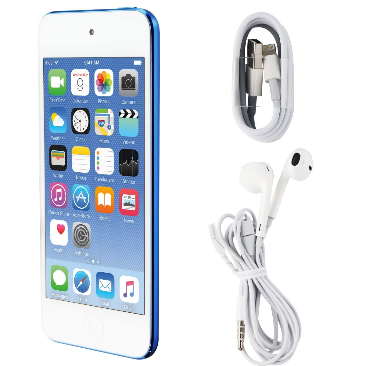 Apple iPod Touch (6th Gen) Wi-Fi Only (A1574) - MKHV2LL/A - 64GB / Blue