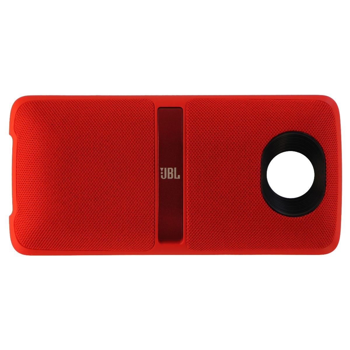 JBL MotoMod Soundboost 2 Audio Speaker Mod for Motorola Moto Z Phones - Red