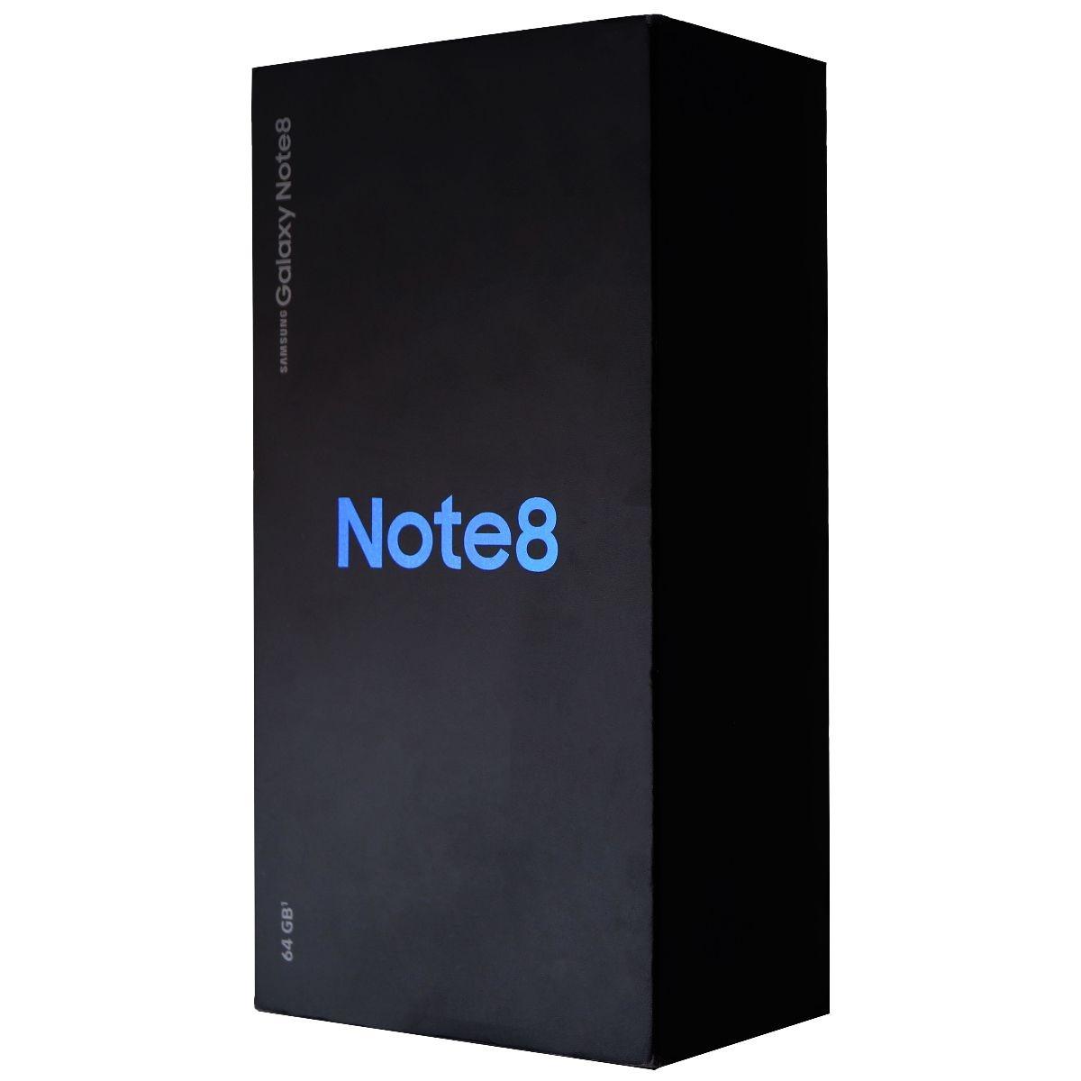RETAIL BOX - Samsung Galaxy Note 8 - 64GB Midnight Black  - NO DEVICE