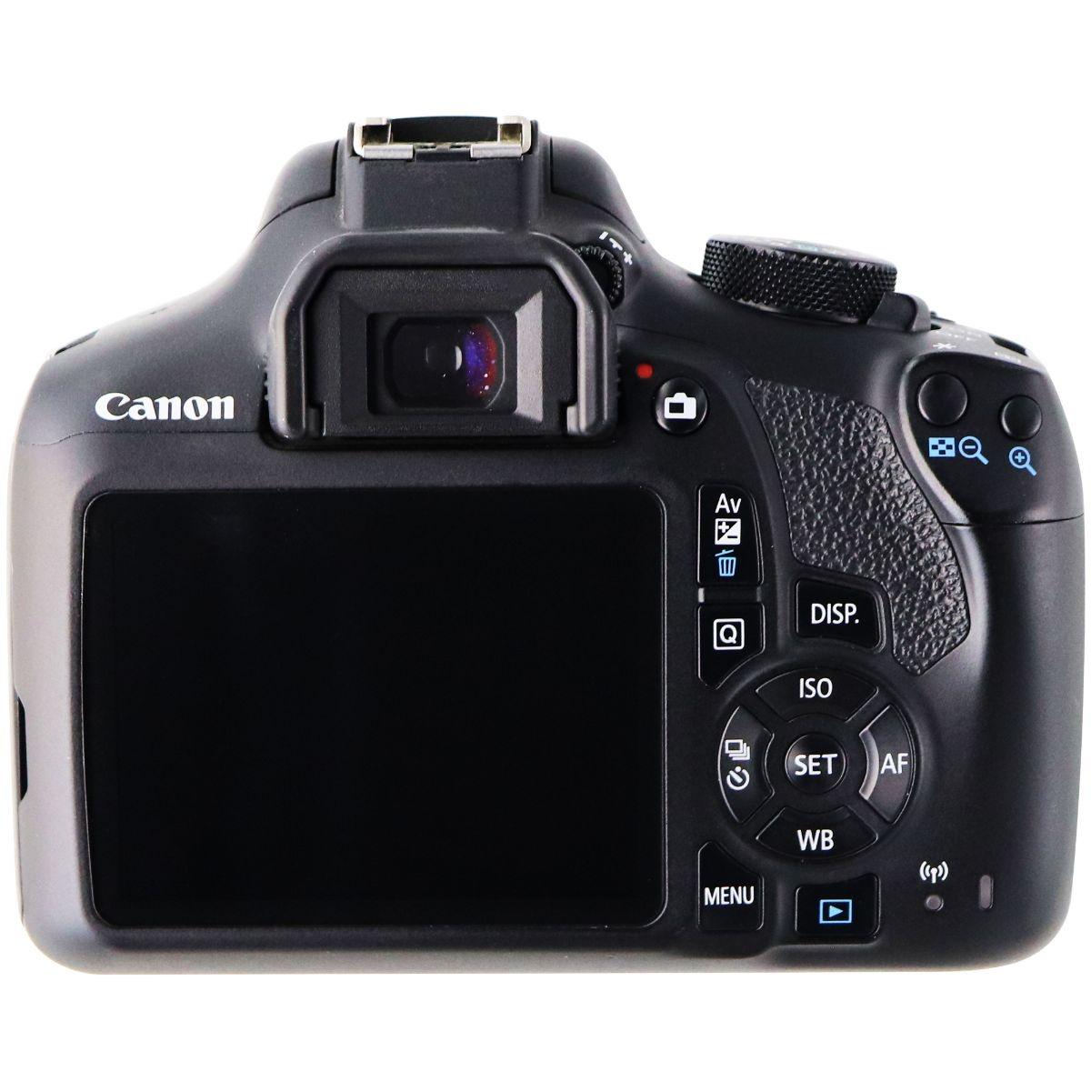 Canon Eos Rebel T6 Digital Slr Camera Body Only Black