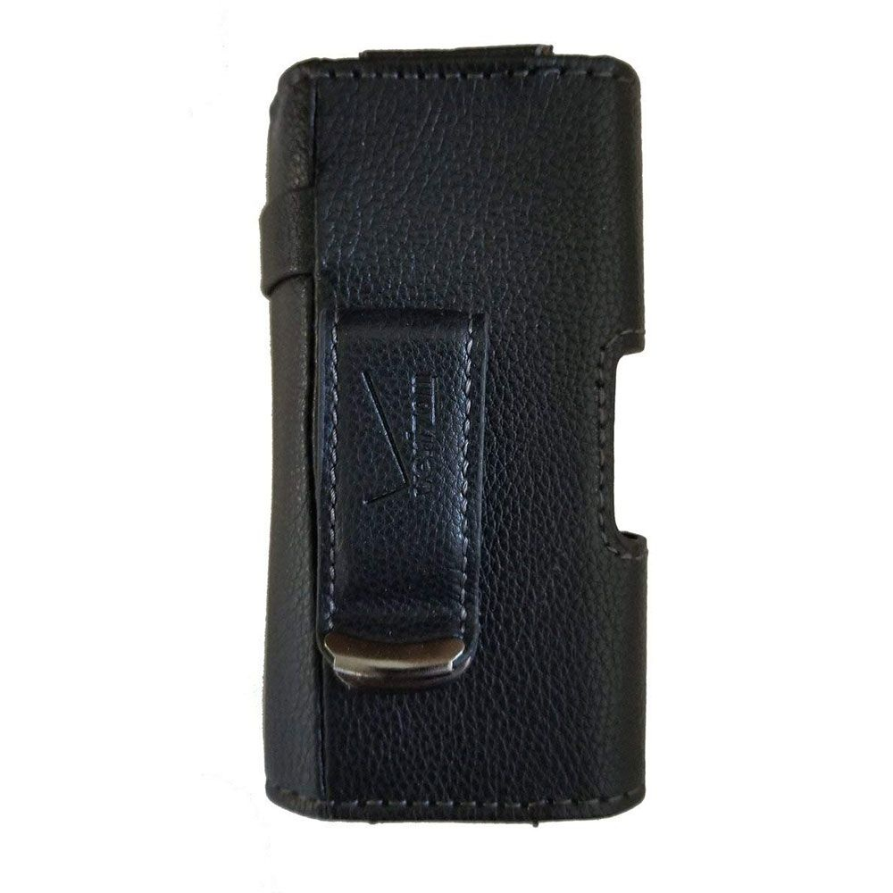 Verizon Universal Leather Pouch w/ Clip for Most Phones Up to 3.5-inches - Black