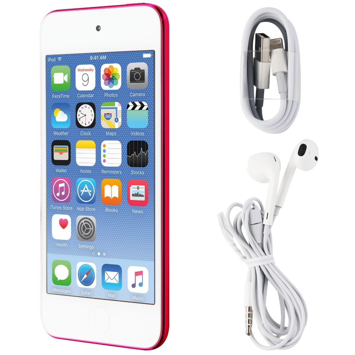 Apple iPod Touch 6th Generation (A1574) - 64GB / Pink (MKGX2LL/A)