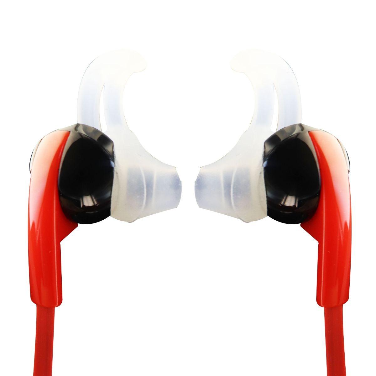Simle Wireless Bluetooth In Ear Sport Earbuds - Red / Black