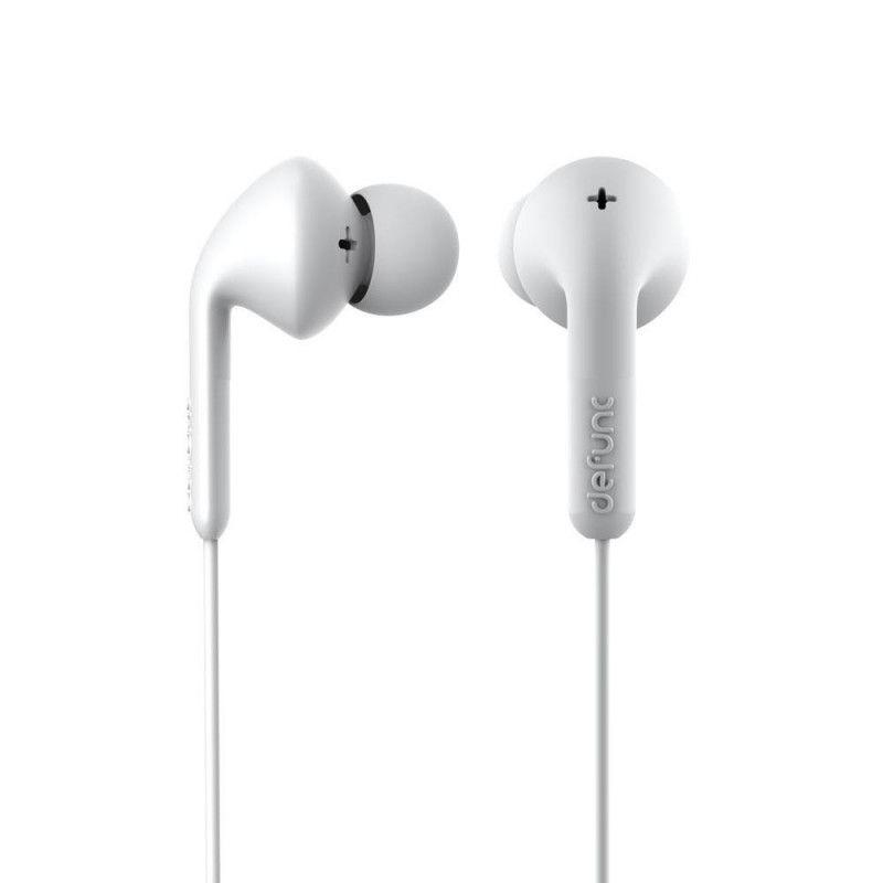 Defunc Basic MUSIC D0332 In-Ear Earbud Headphones - White