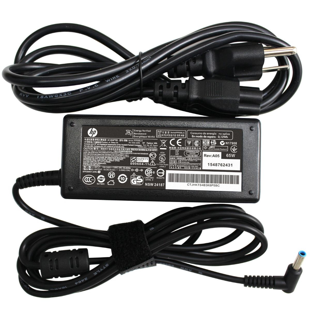 OEM HP Replacement Laptop Charger Power Supply Adapter - PPP009C