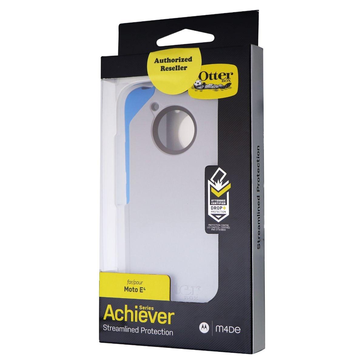 OtterBox Achiever Series Case for Motorola Moto E4 - Water Stone (Gray/Blue)