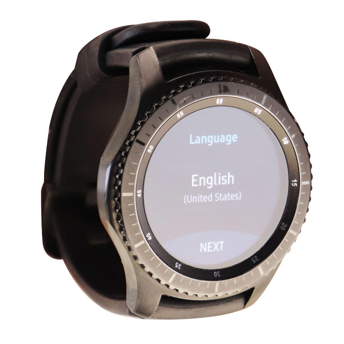 Samsung Gear S3 Frontier 46mm Smart Watch - Dark Gray - SM-R765A (AT&T ONLY)