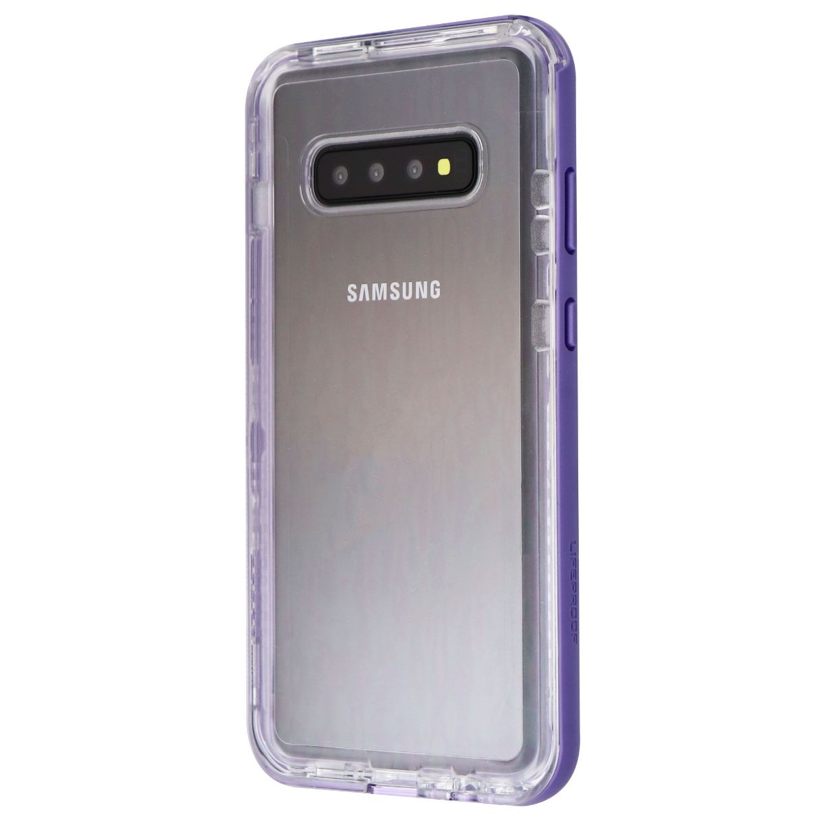 LifeProof Next Series Case for Samsung Galaxy S10+ (Plus) - Clear / Ultra Purple