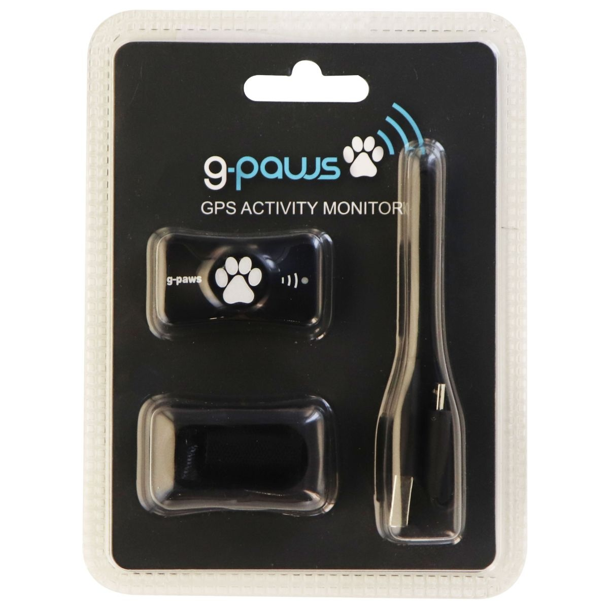 G-Paws GPS Activity Monitor for Pets - Black