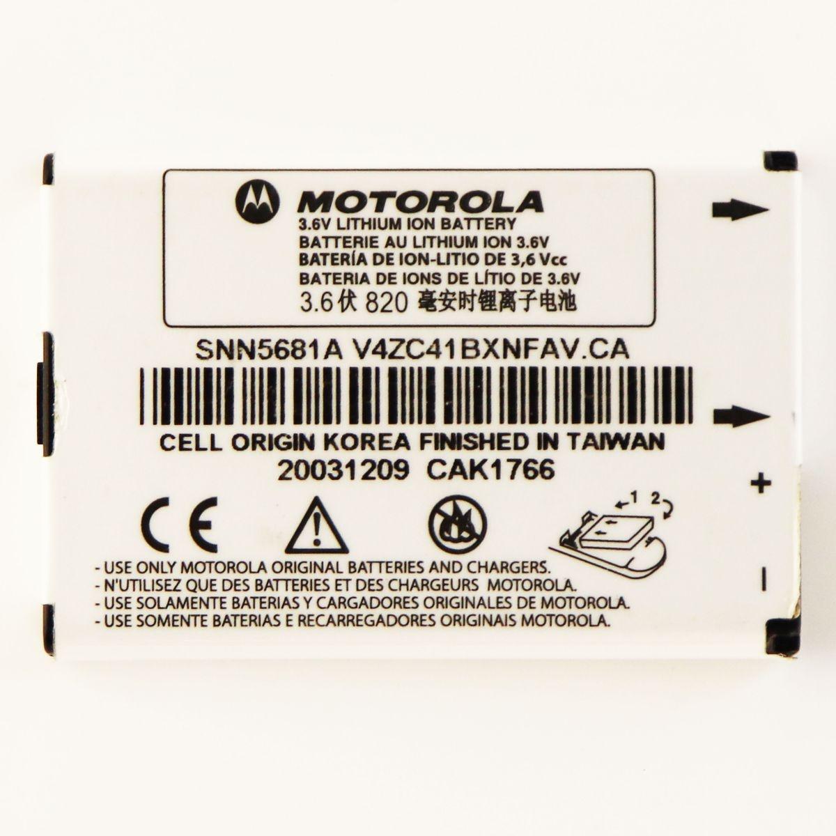 Motorola Li-ion Rechargeable 1140mAh Battery (SNN5705D) 3.6V for V60 i205 i305
