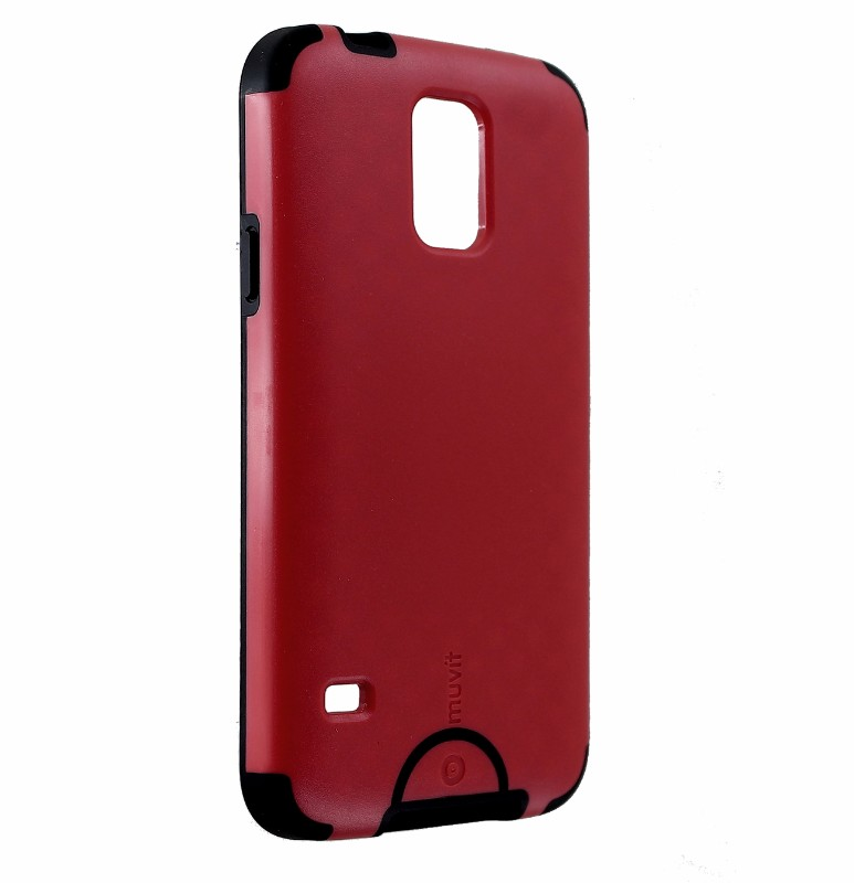 Muvit Fushion Case for Samsung Galaxy S5 - Red/Black
